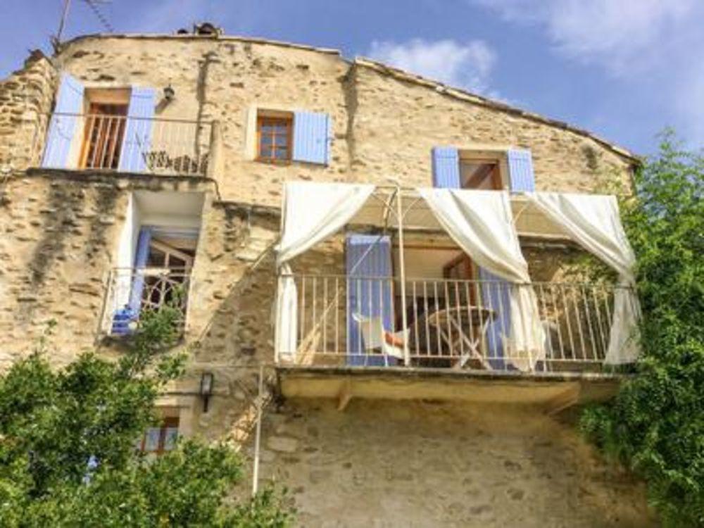Vente Maison Mirabel : maison de village en pierres, vue fantastique, en excellent état  à Mirabel aux baronnies
