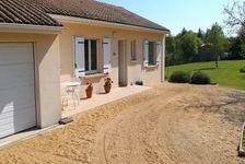 Une maison comprenant : cuisine, buanderie, hall, wc, séjour/salle à manger, trois chambres, salle de bains/wc. Garage, jardin a 170000 Mainzac (16380)