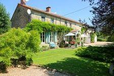 Belle maison de famille ou Chambres d'Hote avec grand jardin 299600 Lathus-Saint-Rémy (86390)