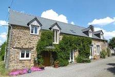 A vendre Landivy ravissante longère 140 m2 habitable, 3 chambres, superbe jardin paysagé de 4400 m2 189000 Landivy (53190)
