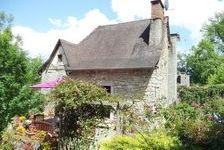 Très belle maison en pierre à vendre dans le Lot à Boussac près de Figeac avec 2 chambres et 2540 m2 de terrain. 189000 Boussac (46100)
