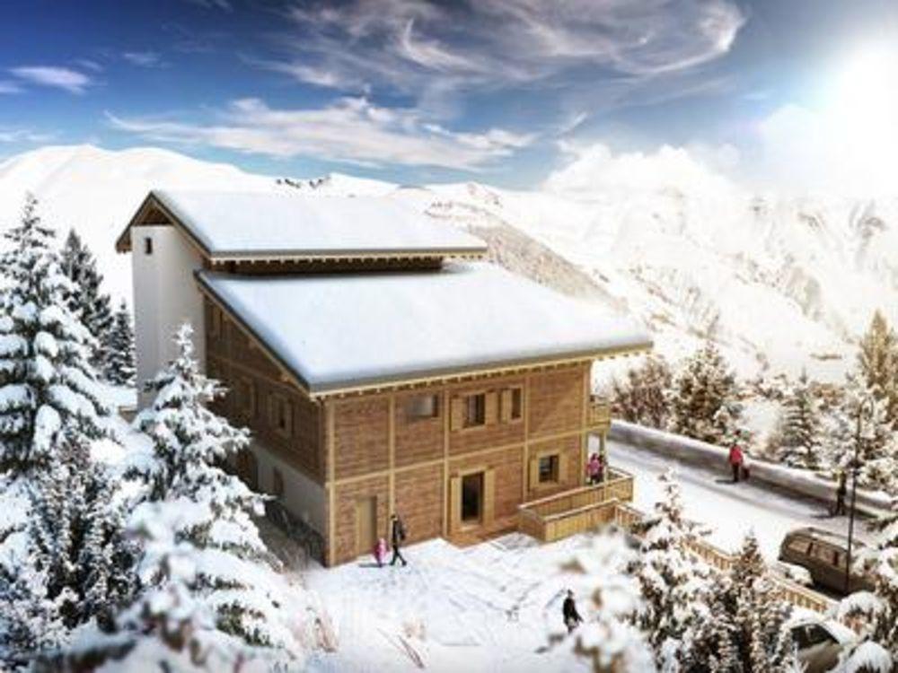 Vente Appartement Etage 0 grande appartement de 45 M² au pied des pistes située dans la station de ski de Salins Sorlin d'Arves - luxe cuisine int  à Saint sorlin d arves