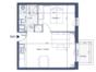 Vente Appartement Nouveau appartement de ski avec une chambre, SDE, cusine/sejour, grande balcon, parking,  casier de ski à VALMOREL (73260) - Sav  à Valmorel