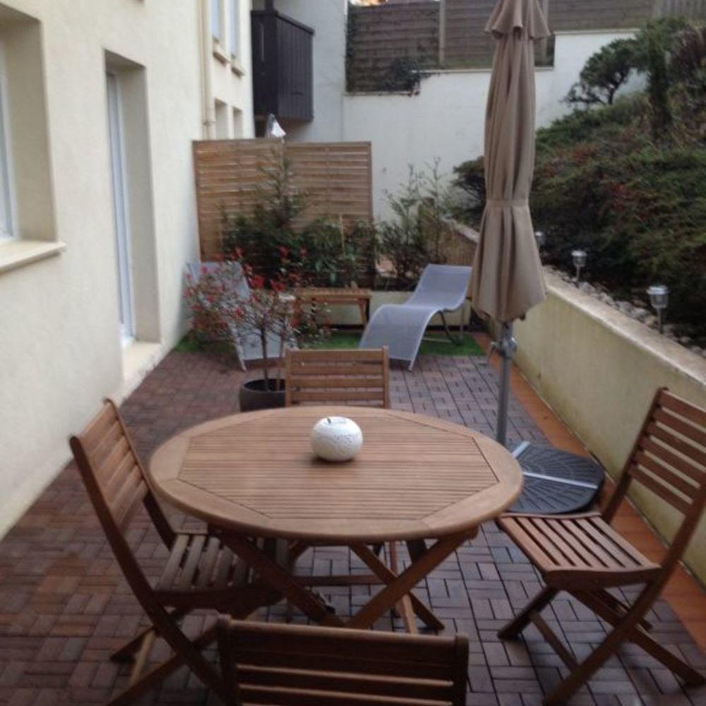 Location Appartement LAXOU - Appartement F2 en résidence avec terrasse (LAXOU)  à Nancy