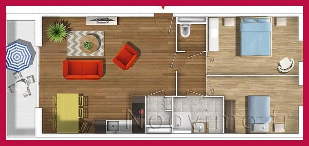 Vente Appartement Appartement en rez de chaussée Neuf  à Le mans