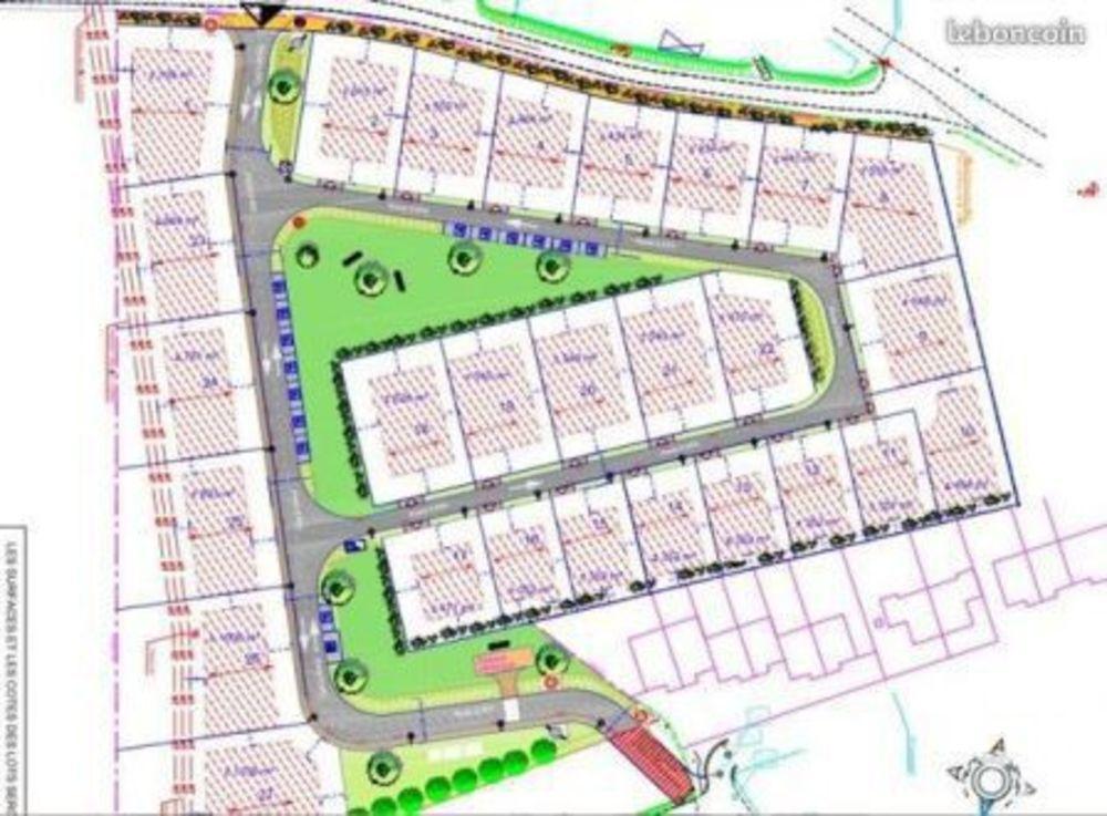 Vente Terrain Vente Terrain 469 m² Mametz
