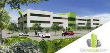 Location bureaux 884 m² non divisibles 142