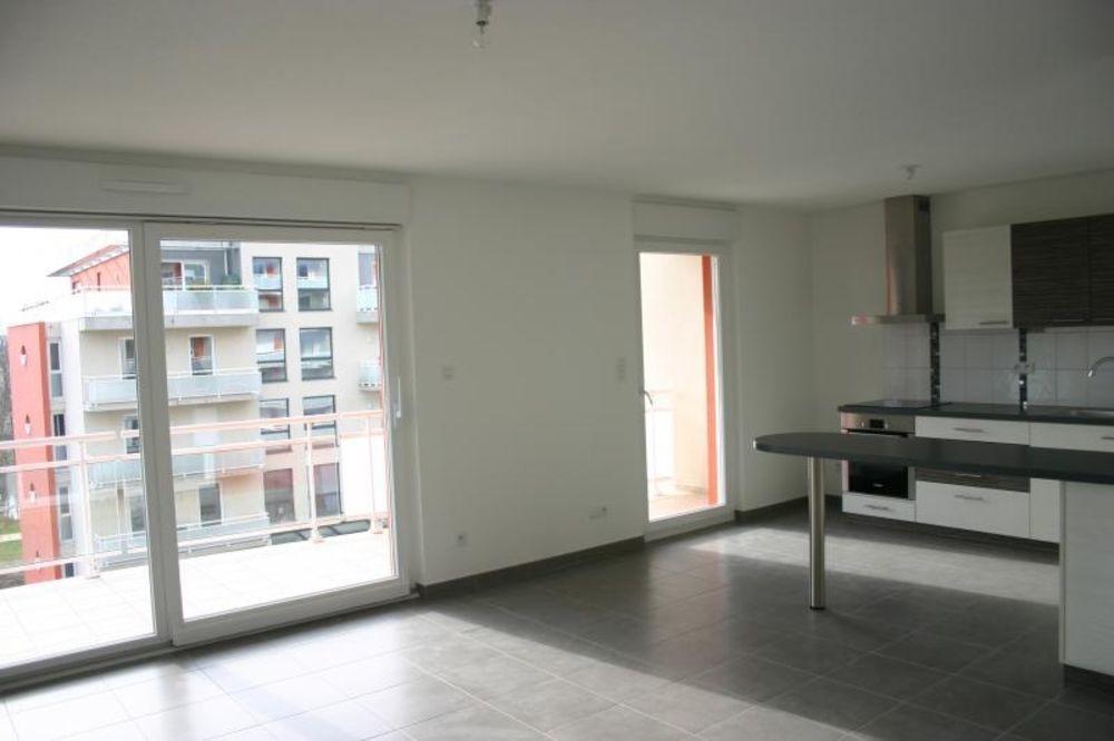vente Appartement - 4 pièce(s) - 91 m² Mulhouse (68100)
