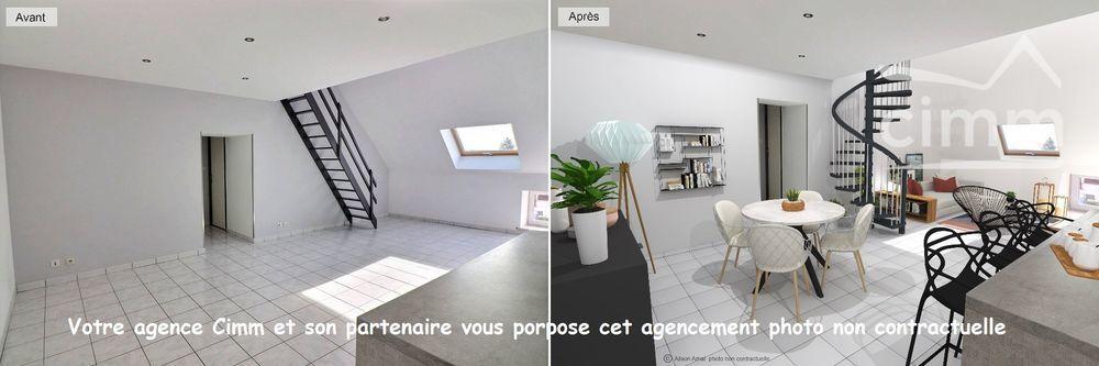 Vente Appartement Duplex  à Messigny et vantoux