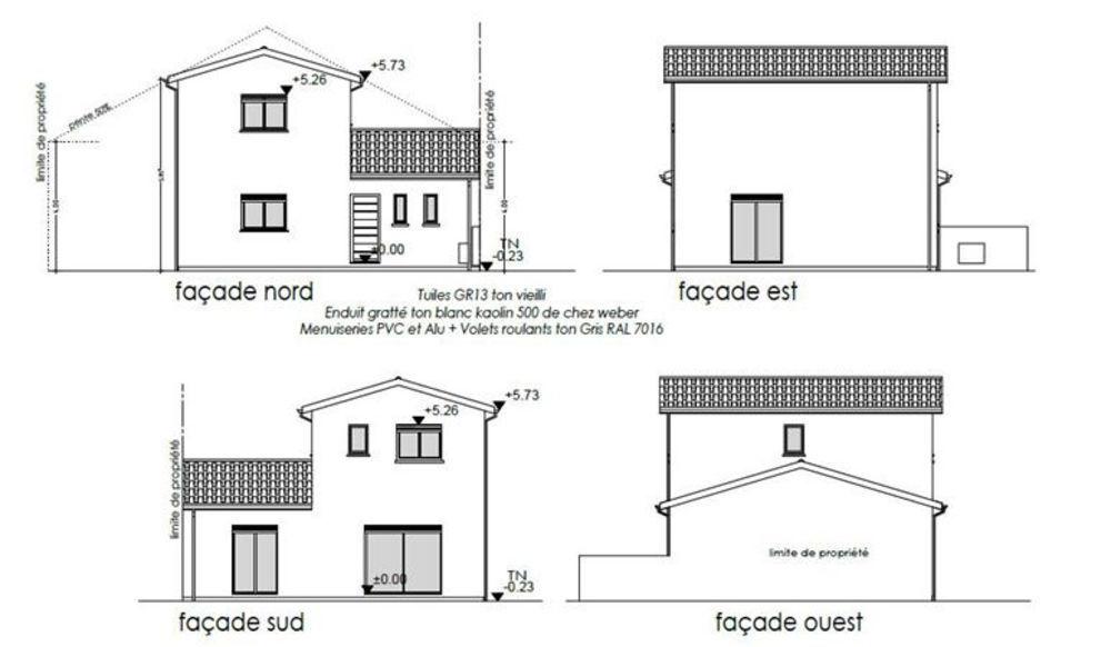 Vente Maison Maison sur plan de 90,71 m2  à Villenave d ornon