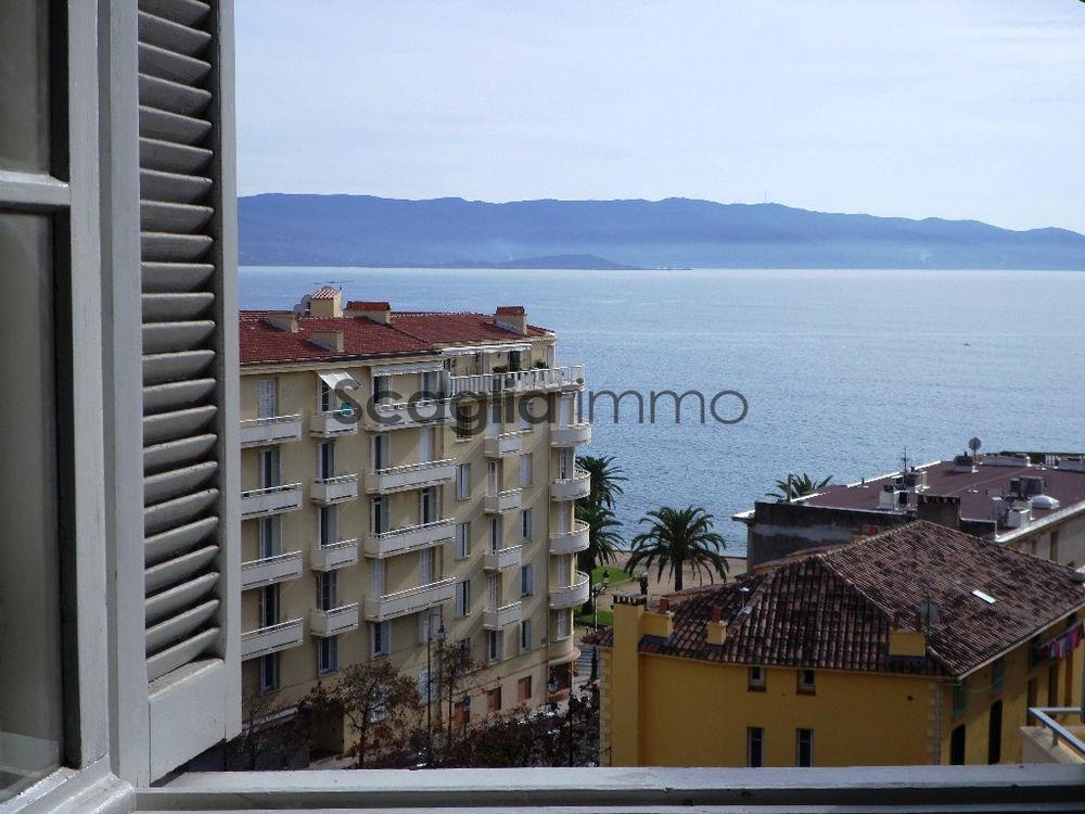 Vente Appartement Vente Ajaccio quartier Trottel T2 vue mer au dernier étage  à Ajaccio