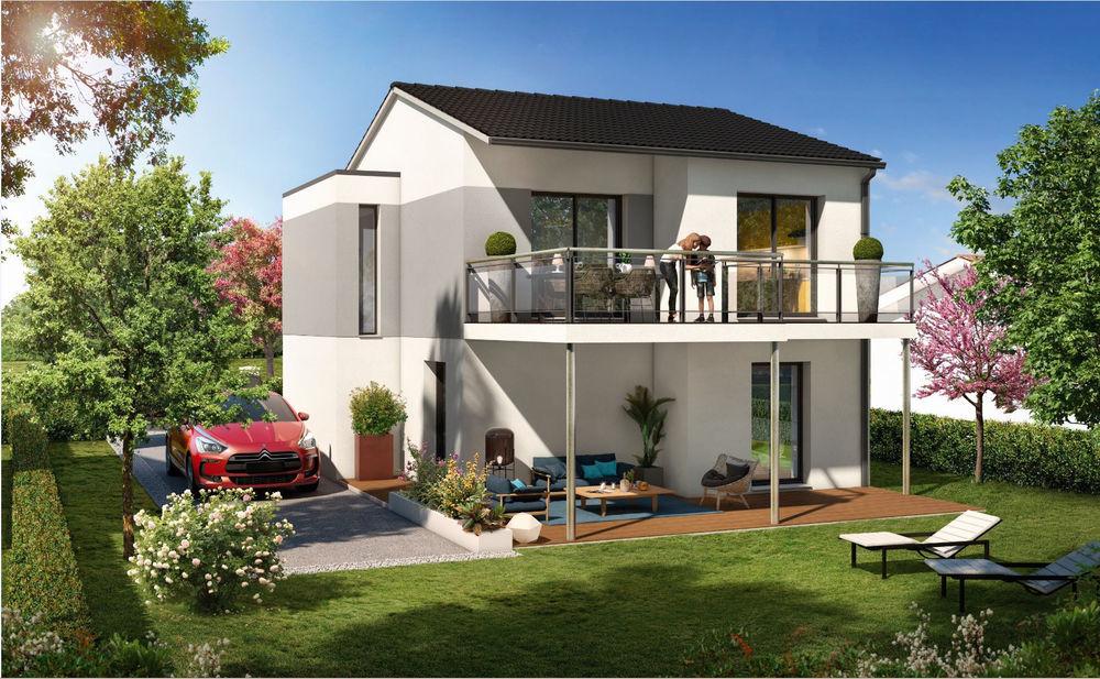 Vente Maison Terrain + Maison de 109 m2  à Gratentour