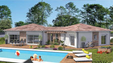 Terrain + Maison de 120 m2 228477 Artassenx (40090)