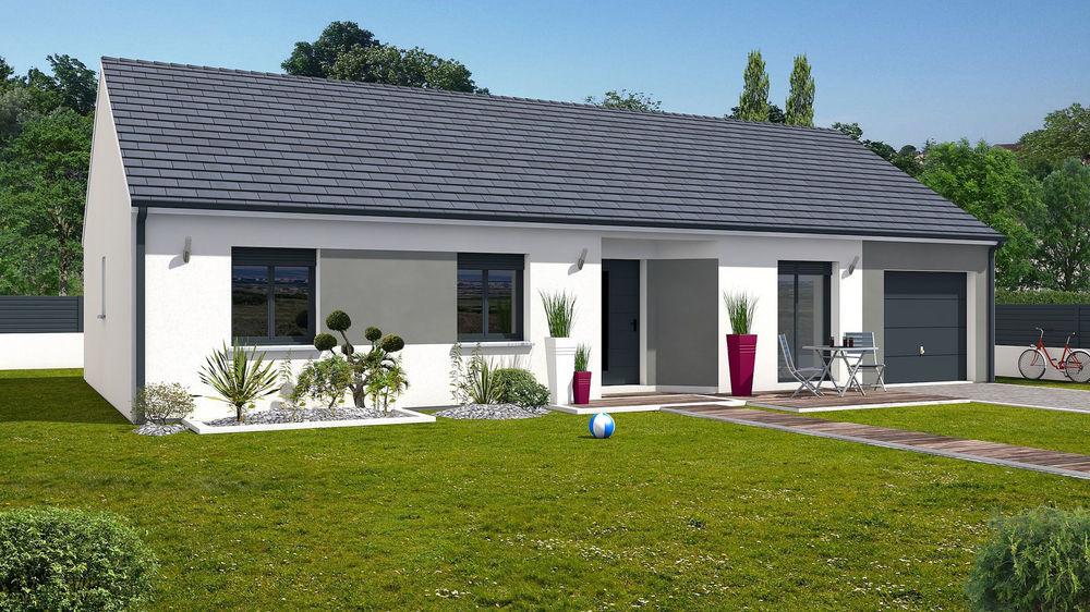 Vente Maison Terrain + Maison de 102 m2  à Pontacq