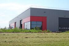 Dépôts de 4300 m2 en cours de construction sur ETUPES (zone technoland 2) 3600