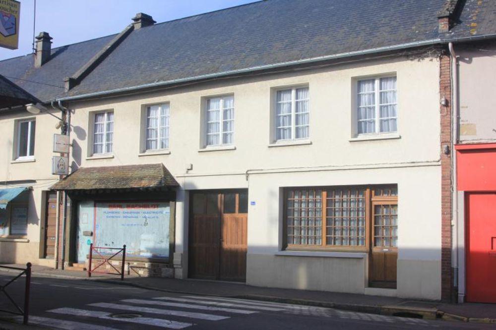 Vente Maison MAISON DE VILLAGE AVEC MAGASIN ET BUREAUX  à Pont authou