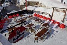 F1021 - Station de Haute Tarentaise, La Rosière (1850m d'altitude), fond de commerce restaurant, bar-tabac et 730000