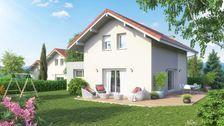 Annecy sud, Jolie villa neuve de 110 m2 environ 390000 Saint-Félix (74540)