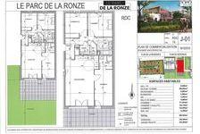 Appartement Neuf Lot J01-T4 80.93 m2 - Terrasse + Jardin 279001 Villefranche-sur-Saône (69400)