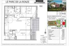 Appartement Neuf Lot H02-T3 60.35 m2 - Terrasse 220000 Villefranche-sur-Saône (69400)