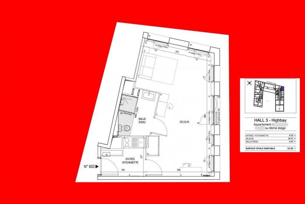 Vente Appartement Studio votre projet de défiscalisation  à Bordeaux