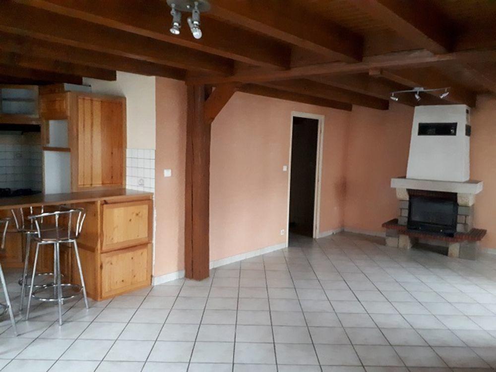 location Maison - 4 pièce(s) - 79 m² Rosières (43800)