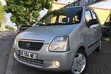 Suzuki Alto 2004 - Gris - WAGON R+ 1.3i 65 ESSEN 4XCBLEU 2790 78800 Houilles