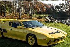 De Tomaso Pantera 1987 - Jaune - GT5-S 6 156000 44500 La Baule-Escoublac