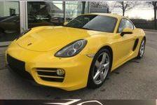 Porsche Cayman 2014 - Jaune - 2.7 BOITE  P. D .K   275 CH 47890 44500 La Baule-Escoublac