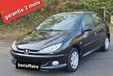 Peugeot 206 2005 - Noir - 1.4L 75ch clim toit panoramique 88000k 3990 27200 Vernon