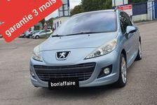 Peugeot 207 2009 - Bleu - 1.6L hdi 110chv gps toit panoramique 4990 27200 Vernon