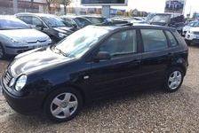 Volkswagen Polo 2004 - Noir - 1.2i  65 CONFORT 5P TOIT OUVRANT 3980 78310 Coignières