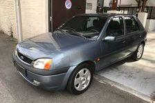 Ford Fiesta 2001 - Gris Métallisé - 1.3 60 ch 5 portes toit ouvrant 1890 92320 Châtillon