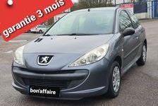 Peugeot 206 2010 - Gris - + 1.1L 60ch clim 5places 2990 27200 Vernon