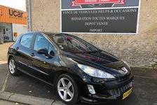 Peugeot 308 2009 - Noir - 5 Portes 1.6 HDi FAP 16V Feline 110 ch 5990 41000 Blois