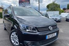 Volkswagen Touran 1.6L TDI 105cv CONFORTLINE 7PL. NOIRE 2012 occasion Villeurbanne 69100