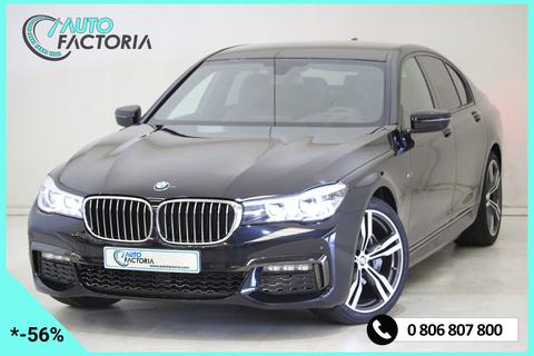 BMW Série 7 +RADARS+CLIM BIZONES+S.CHAUFF CUIR+OPTIONS 2018 occasion 57150-CREUTZWALD