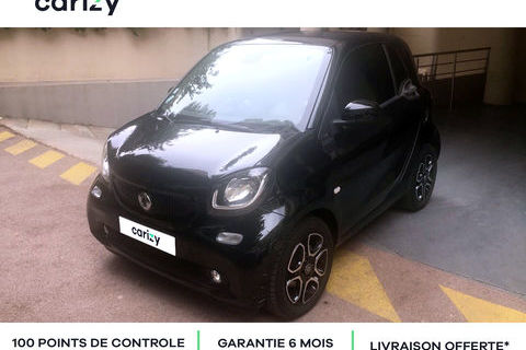 Smart ForTwo Fortwo Coupé 1.0 71 ch S&S BA6 Prime 2015 occasion CANNES 06400