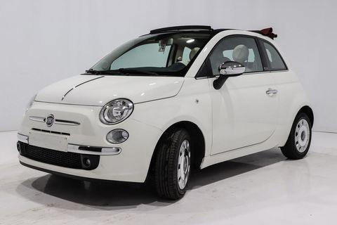 Fiat 500c - CABRIOLET GRANTIE - Blanc Métallisé 7950 08260 Auvillers-les-Forges