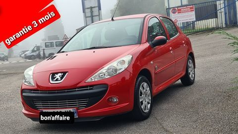 Peugeot 206 - + 1.4i 75 generation 1er main clim - Rouge 4500 27200 Vernon