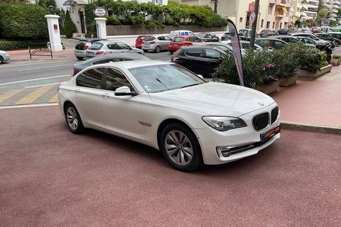 BMW Série 7 730 xdrive 258CV LUXE Véhicule FR 2012 occasion Cannes 06400