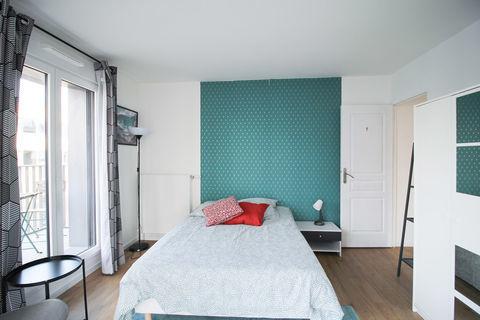 Chambre spacieuse et lumineuse – 14m² - CL11 820 Clichy (92110)