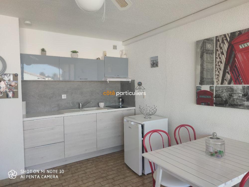 Vente Appartement Studio grande cabine de 26,51 proche plage et centre ville , avec  parking privé. Le grau du roi