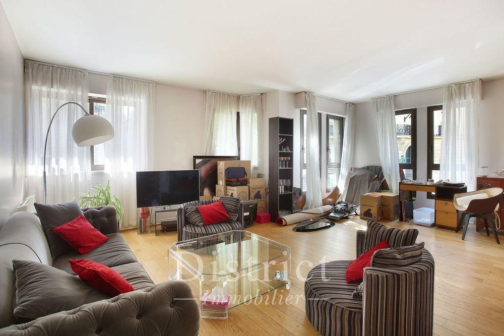 Location Appartement Iéna / Lubeck - Appartement vide 3 pièces de 106m². Bon plan, pe Paris 16