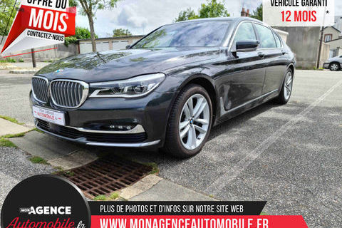 BMW Série 7 3.0 D XDrive 265ch Limousine Exclusive 2016 occasion Châteaudun 28200