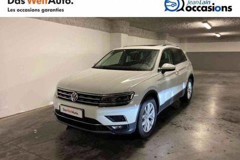 VOLKSWAGEN TIGUAN 2018 - Blanc - Tiguan 2.0 TDI 150 DSG7 Carat 30690 01170 Cessy
