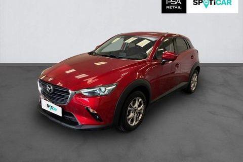 Mazda Cx-3 CX-3 2.0L Skyactiv-G 121 4x2 BVA6 Dynamique 2019 occasion Rouen 76000