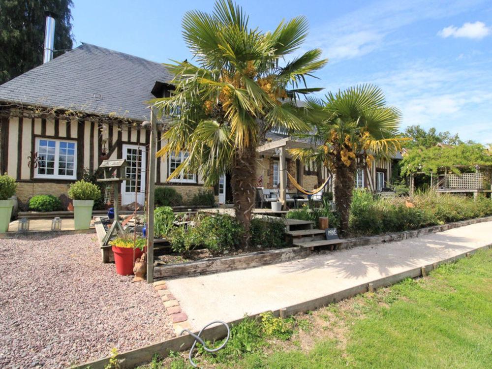 Vente Maison A vendre Pays D'auge proche LISIEUX  Domaine Normand 5 gites 4 hectares avec piscine et animaux de la ferme Saint-martin-de-la-lieue