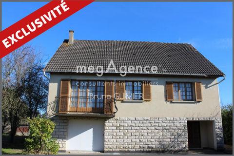 Pavillon de 120 m2 - Parcelle de 2.200 m2 - 132500 Aubigné-Racan (72800)