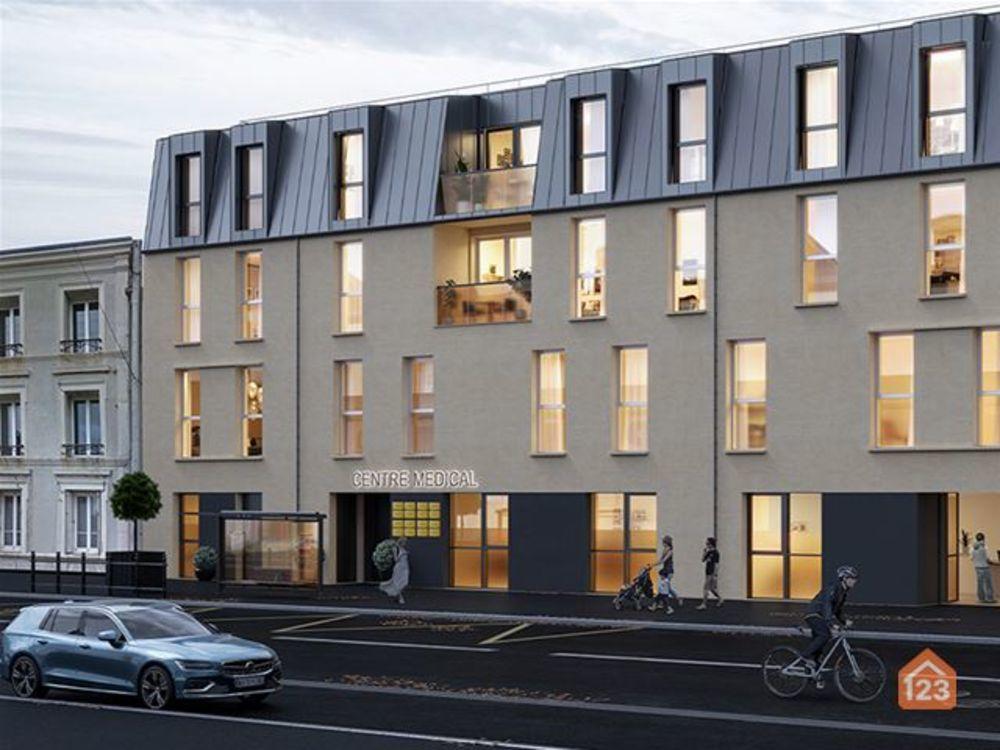 Vente Appartement Appt T2 (49,91 m2) au premier étage Équeurdreville-hainneville
